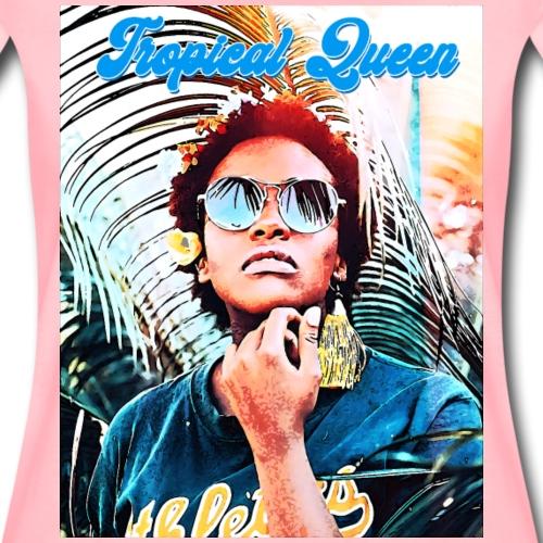Tropical Queen - T-shirt Premium Femme