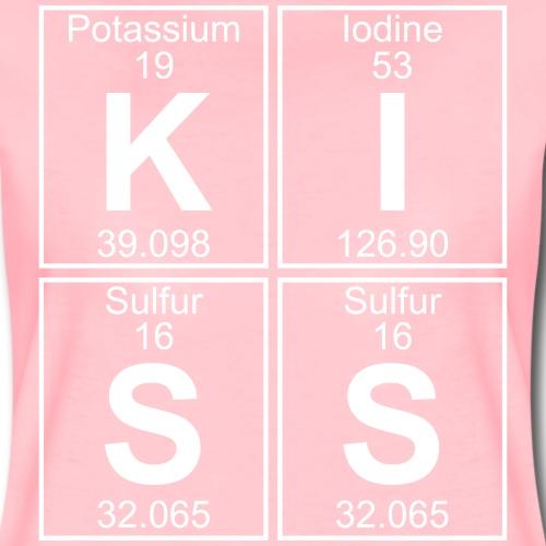 K-I-S-S (kiss) - Full - Women's Premium T-Shirt