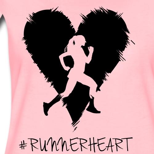 #Runnerheart Girl small - Frauen Premium T-Shirt