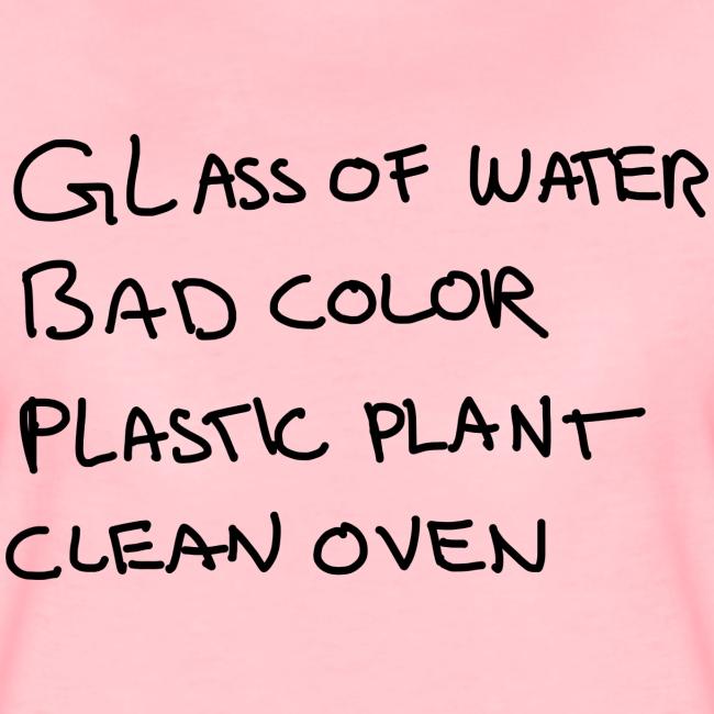 Glass Color Plastic Oven