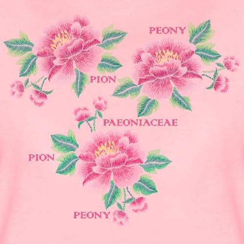 Peony - Dam - Women's Premium T-Shirt