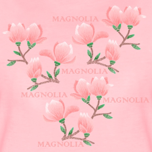 Magnolia - Dam - Women's Premium T-Shirt