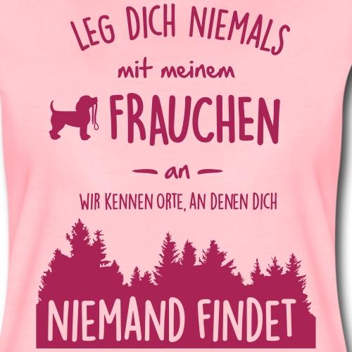 Mein Frauchen - Frauen Premium T-Shirt