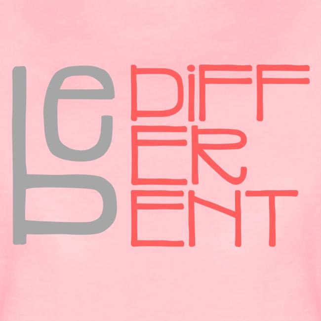 Be different - Fun Spruch Statement Sprüche Design