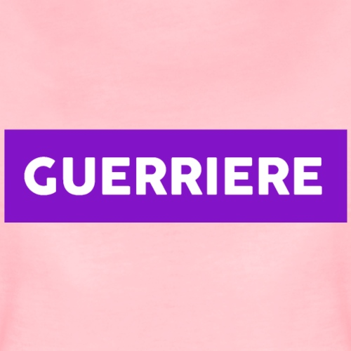 Guerrière - T-shirt Premium Femme