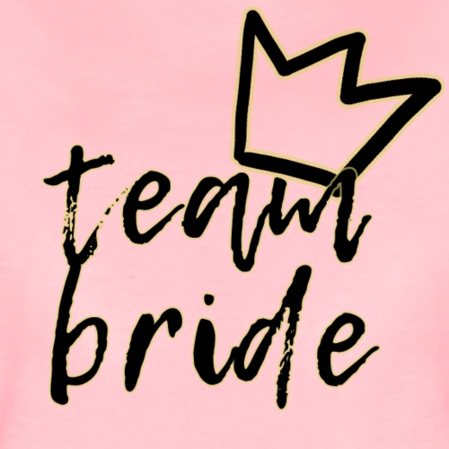 Team Bride - Maglietta Premium da donna