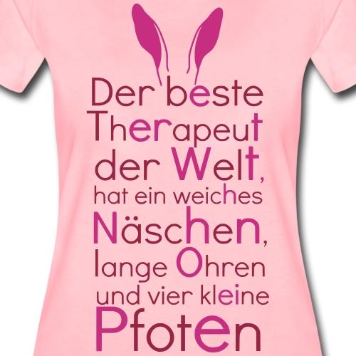 Der beste Therapeut der Welt ... - Frauen Premium T-Shirt