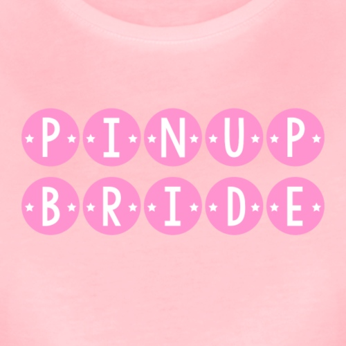 Pinup Bride (Pink) - Women's Premium T-Shirt