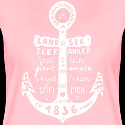 Seemanns Glück ! - Frauen Premium T-Shirt