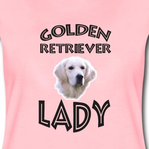 GOLDEN RETRIEVER LADY - Hundekopf