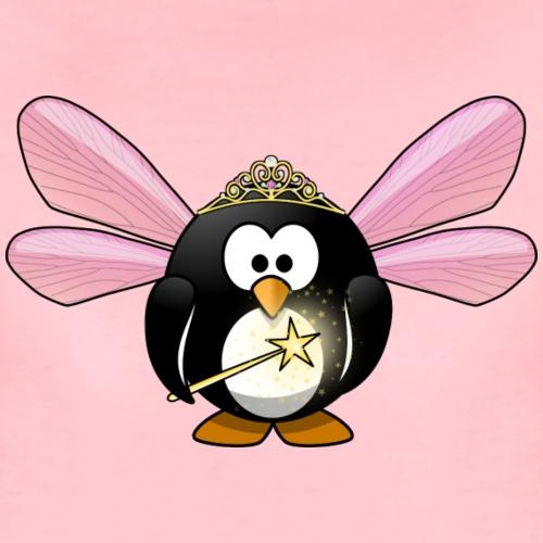 Pinguin Prinzessin - Frauen Premium T-Shirt