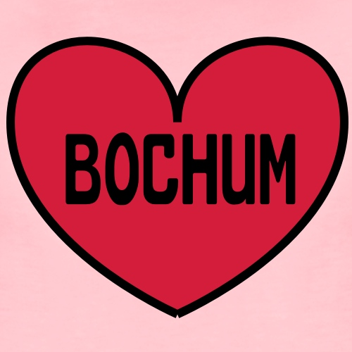 Bochum Herz - Frauen Premium T-Shirt