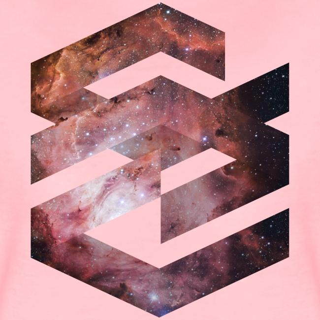 Geometische Galaxie Form