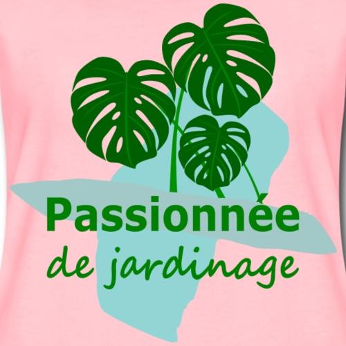 Passionnée de jardinage - Women's Premium T-Shirt