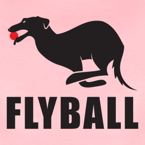Flyball - Camiseta premium mujer
