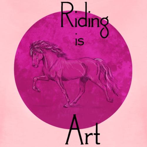 Tölter Art Pink - Frauen Premium T-Shirt