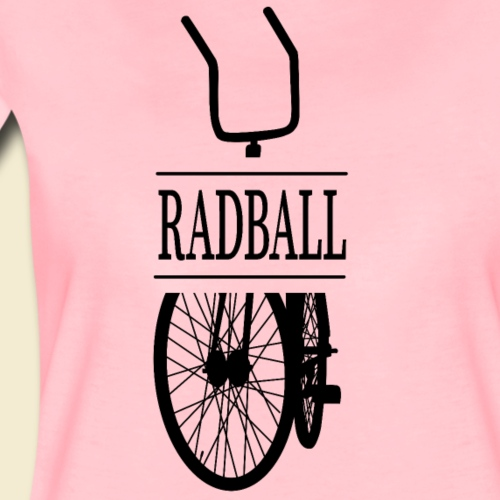 Radball   Retro Black - Frauen Premium T-Shirt