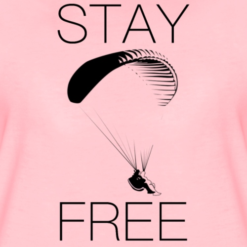 STAY FREE - Frauen Premium T-Shirt