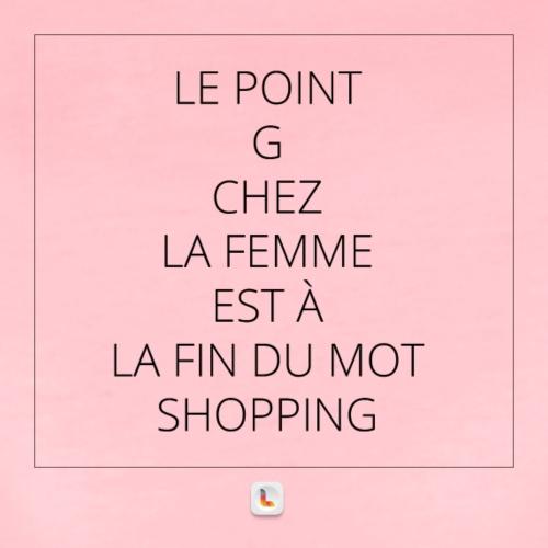 Le point G en mode shopping 2 - T-shirt Premium Femme