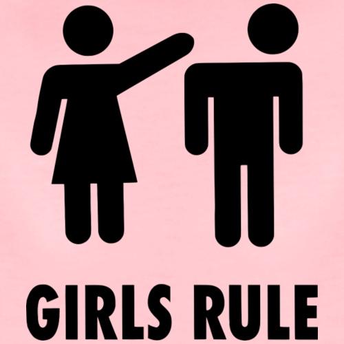 Girls Rule - Frauen Premium T-Shirt