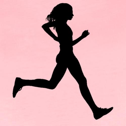Running women - Koszulka damska Premium