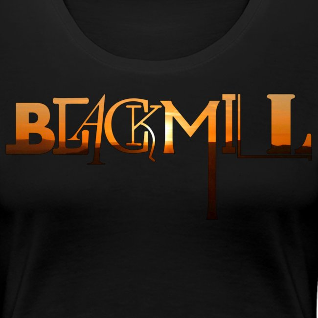 BLACKMILL small Fonts orange
