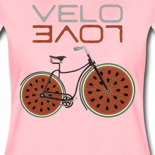 Melonen Bike Shirt Velo Love Shirt Radfahrer Shirt - Frauen Premium T-Shirt