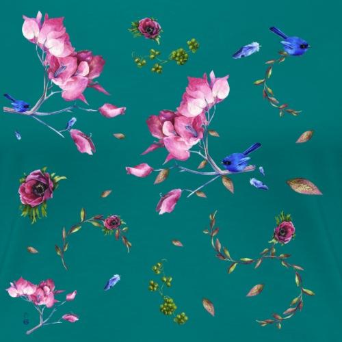spring pattern - Maglietta Premium da donna