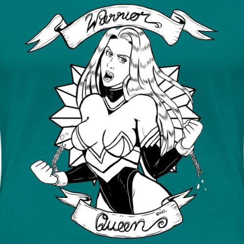 Warrior Queen (colour) - Frauen Premium T-Shirt