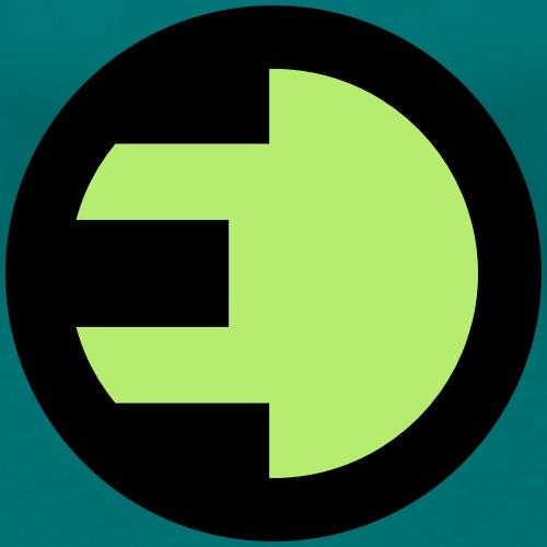 Energie Plakette - Energie Stecker - Frauen Premium T-Shirt