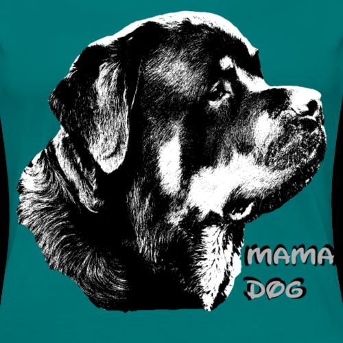 Rottweiler,Hunde Mama,Hundekopf,Hundesprüche,Hunde - Frauen Premium T-Shirt