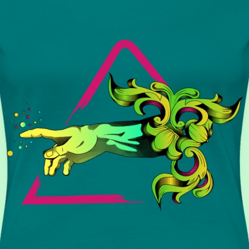 Mano de dios - Camiseta premium mujer