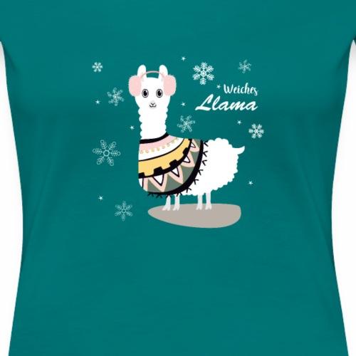 Weiches Lama Lama T-Shirt