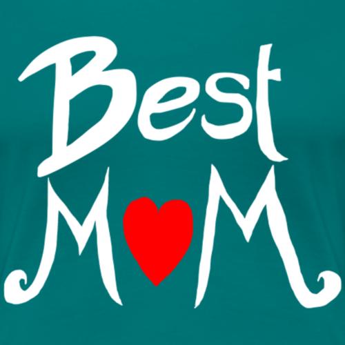 Beste Mama Muttertag Motiv weiß - Frauen Premium T-Shirt