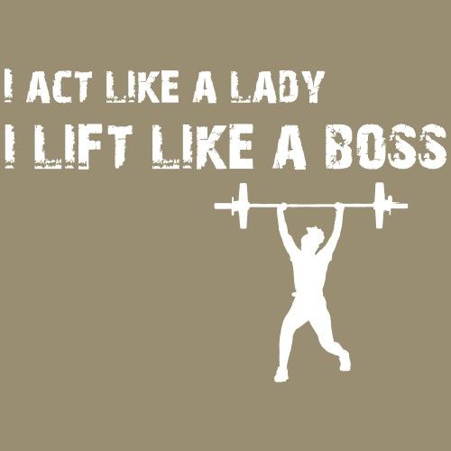 shirtsbydep act lift - Vrouwen Premium T-shirt