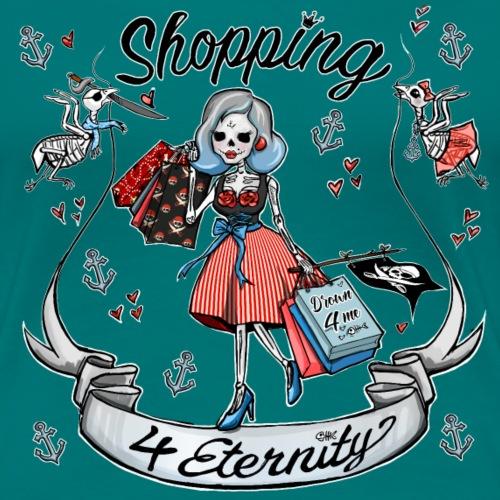 Shopping für immer & ewig, Maritim - Frauen Premium T-Shirt
