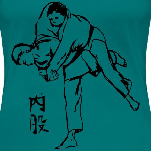 uchimata_logo_calligraphi - T-shirt Premium Femme