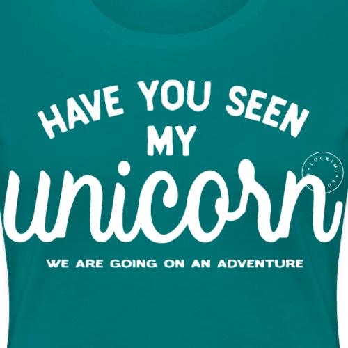 Unicorn dam - Women's Premium T-Shirt