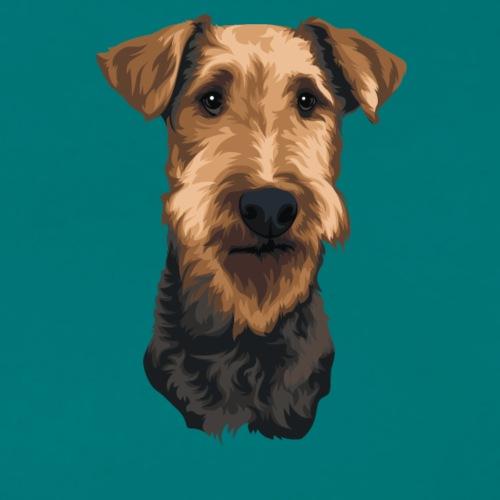 JUNO Airedale Terrier - Women's Premium T-Shirt