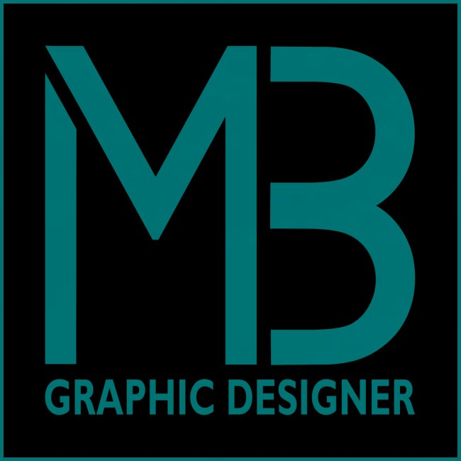 Logo MB Graphic Designer Black