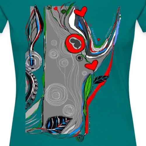 LiebesGlück - Frauen Premium T-Shirt