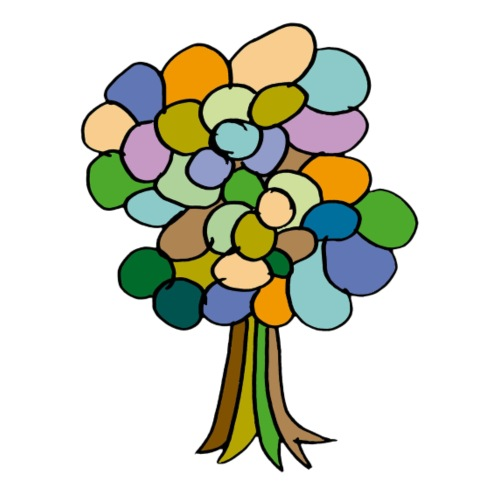 árbol 2 - Camiseta premium mujer
