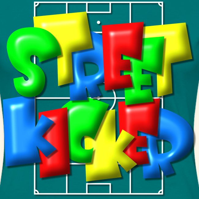 """Streek Kicker"" im Fußballfeld - Balloon-Style"