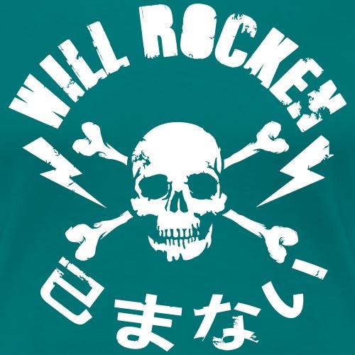 WILL ROCKEN im Kreis - Frauen Premium T-Shirt