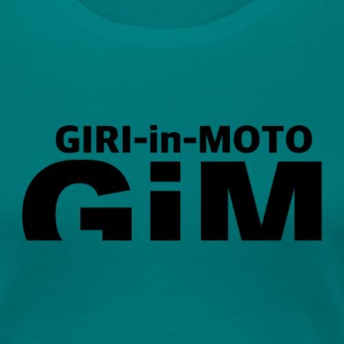 GiM nero - Maglietta Premium da donna