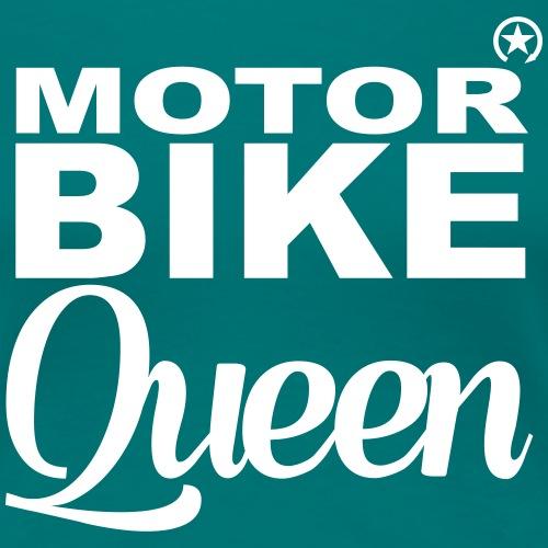 Motorbike Queen 8KQ01 - Women's Premium T-Shirt