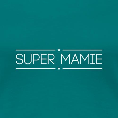 Logo Super Mamie - Blanc