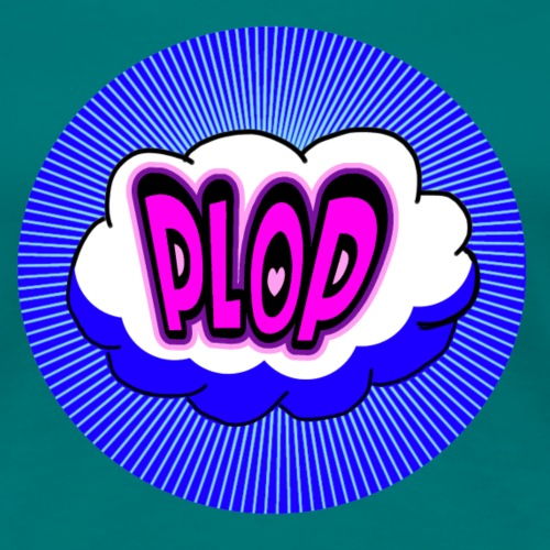 PLOP Comic - Frauen Premium T-Shirt