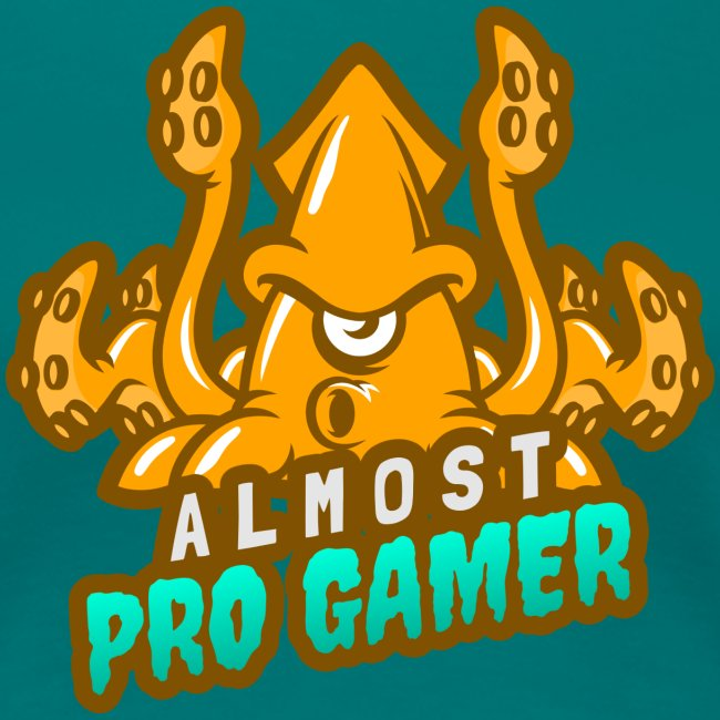 Almost pro gamer YELLOW