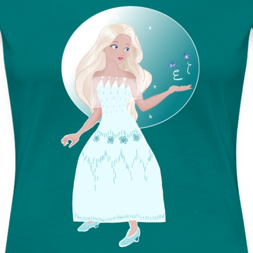 Frozen Princess - T-shirt Premium Femme